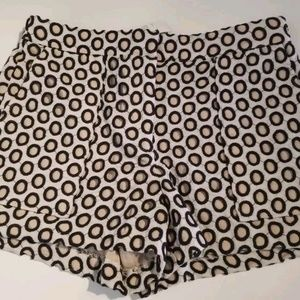 J crew punched out eyelit shorts 4 new